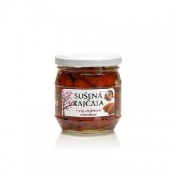 Sušené paradajky v oleji a bylinách s mandľami190g