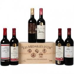 Medailové vína z Bordeaux 6x0