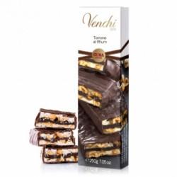 Venchi - nugát s čokoládovym krémom s rumom v horkej čokoláde 250g