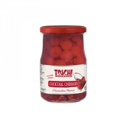 Koktailové čerešne Toschi červené 630g