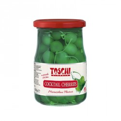 Koktailové čerešne Toschi zelené 630g