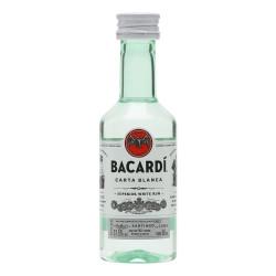 Bacardi Carta Blanca 37,5% 0,05l