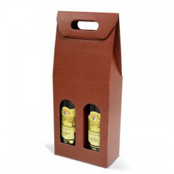 Krabica na víno Bordeaux - 2 fľaše