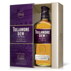 Tullamore Dew 12y, 40% 0,7l