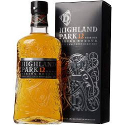 Highland Park 12 Years Old...