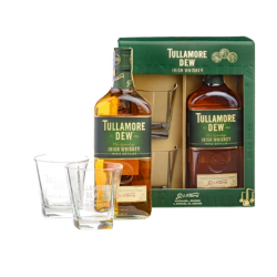 Tullamore Dew + 2 poháre...