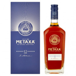 Metaxa 12*  40% 0,7l box